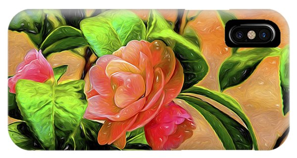 Camellia Candy IPhone Case