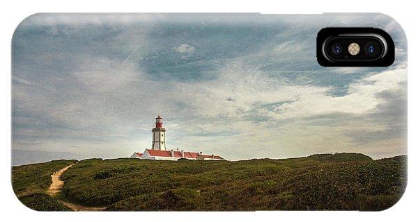 Navigation iPhone Case - Cape Espichel Lighthouse by Carlos Caetano