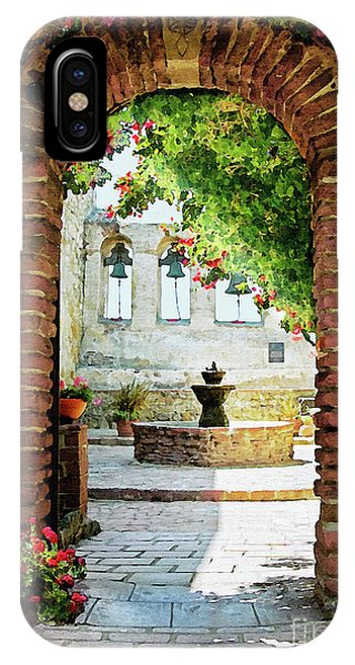 Capistrano Gate IPhone Case