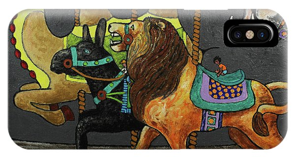 iPhone Case - Carousel Kids 2 by Rich Travis
