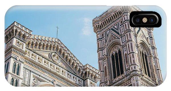 Cattedrale Di Santa Maria Del Fiore Is The Main Church Of Floren IPhone Case