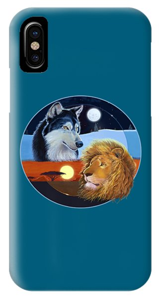 Celestial Kings Circular IPhone Case