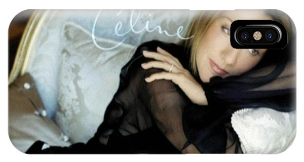 iPhone Case - Celine Dion by Eloisa Mannion