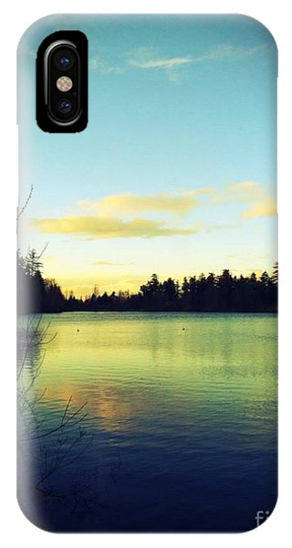 Center Of Peace IPhone Case