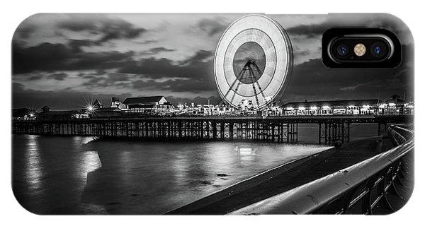 Fair iPhone Case - Central Pier  by Mark Mc neill
