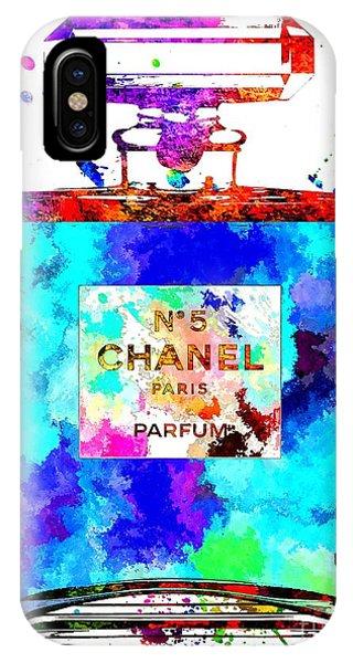 Chanel No. 5 Grunge IPhone Case