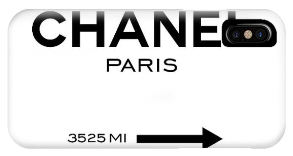 Glamour iPhone Case - Chanel Paris by Tres Chic