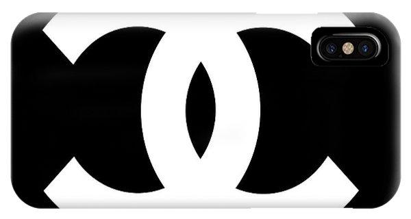 Symbols iPhone Case - Chanel Symbol by Edit Voros