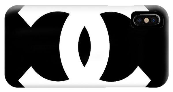 Symbol iPhone Case - Chanel Symbol by Edit Voros