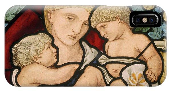 Pre-modern iPhone Case - Charity  by Edward Coley Burne-Jones