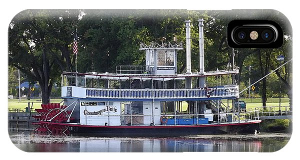 Chautauqua Belle On Lake Chautauqua IPhone Case