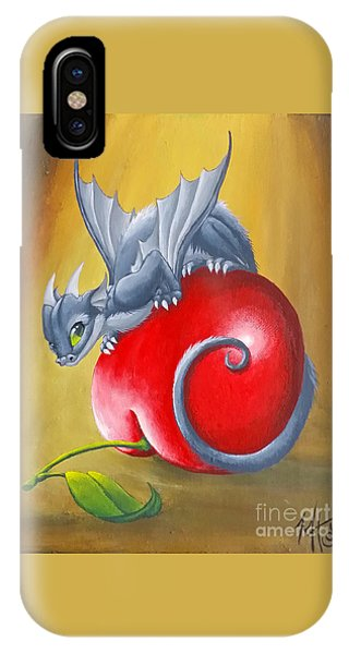 Cherry Dragon IPhone Case