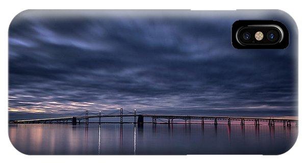 Chesapeake Bay iPhone X Case - Chesapeake Morning by Robert Fawcett