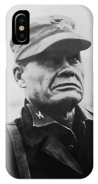 Cross iPhone Case - Chesty Puller by War Is Hell Store