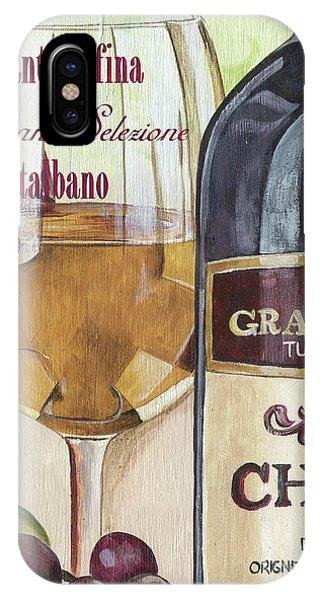 Vino iPhone Case - Chianti Rufina by Debbie DeWitt