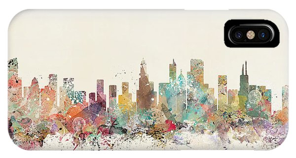 Chicago Art iPhone Case - Chicago City by Bri Buckley