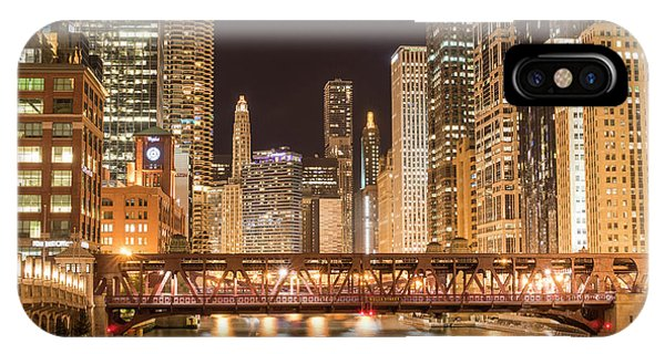 Chicago River iPhone Case - Chicago by Juli Scalzi