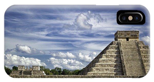 Chichen Itza, El Castillo Pyramid IPhone Case