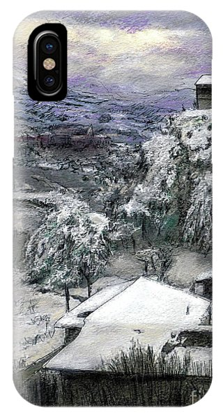 Chiesa San Vito In The Snow IPhone Case
