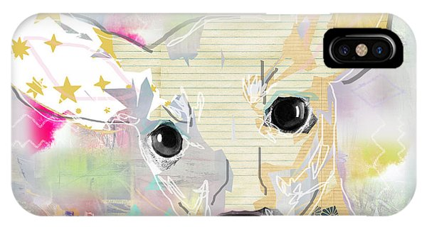 Pastel Colors iPhone Case - Chihuahua Collage by Claudia Schoen