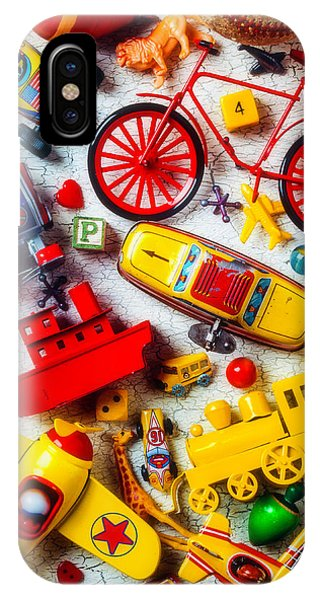 Novelty iPhone Case - Childhood Toys by Garry Gay