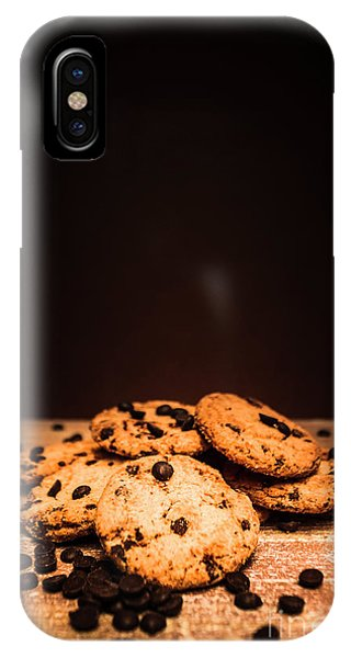 Chip iPhone Case - Choc Chip Biscuits by Jorgo Photography - Wall Art Gallery
