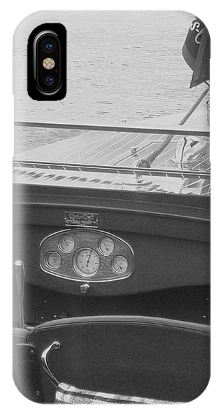Runabout On Pewaukee IPhone Case
