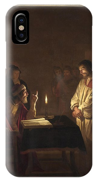 Christ Before The High Priest IPhone Case