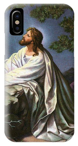 Messiah iPhone Case - Christ In The Garden Of Gethsemane by Heinrich Hofmann