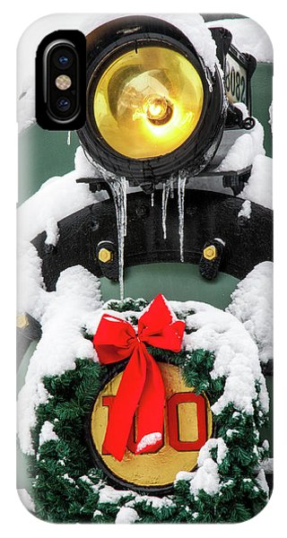 Christmas Train At Pacific Junction IPhone Case