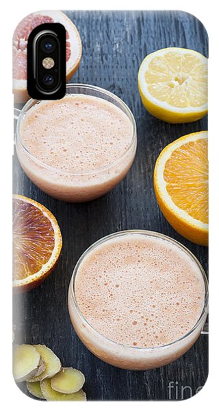 Citrus Smoothies IPhone Case