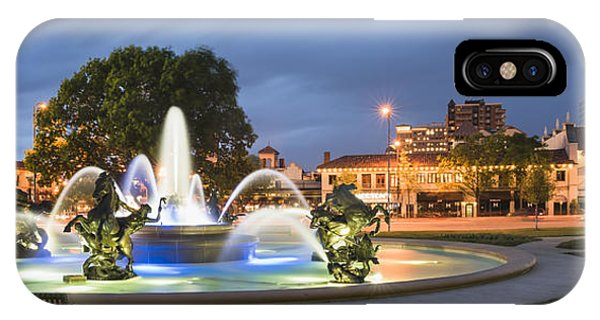 City Of Fountains IPhone Case