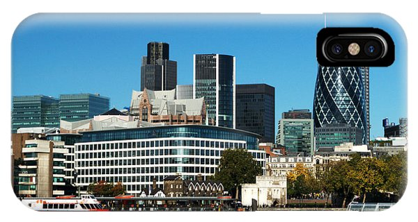 iPhone Case - City Of London Skyline by Chris Day