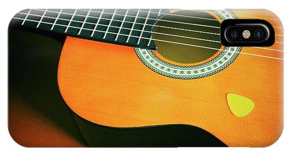 Strum iPhone Case - Classic Guitar  by Carlos Caetano