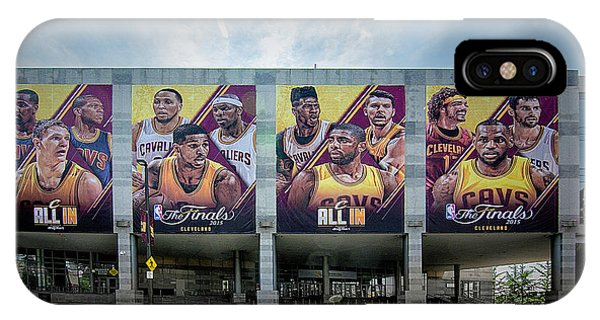 Kyrie Irving iPhone Case - Cle_ All In  by Michael Rankin
