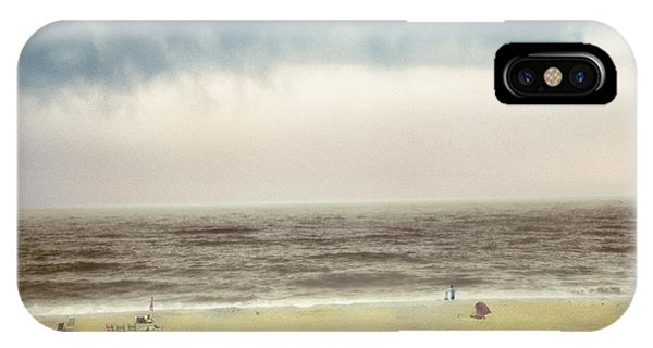 Clearing Storm Montauk IPhone Case