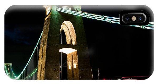 Clifton Suspension Bridge, Bristol. IPhone Case