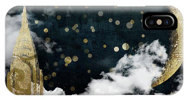 Cloud Cities New York IPhone Case