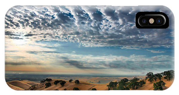 Clouds Over East Bay Hills IPhone Case