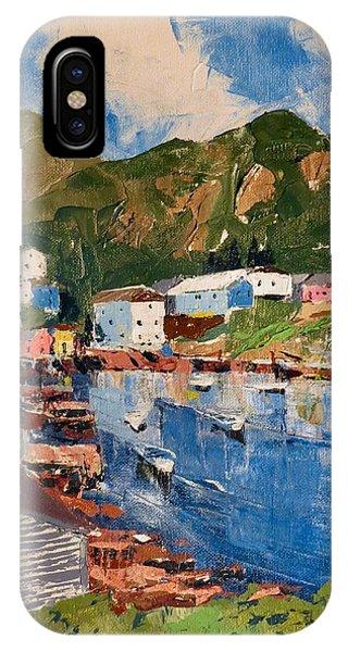 Coastal Village, Newfoundland IPhone Case