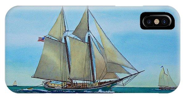 Coasting Schooner Australia IPhone Case