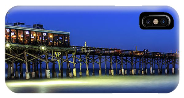 Cocoa Beach Pier At Twilight IPhone Case