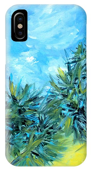 Collection Art  For Health And Life. Painting 10  IPhone Case