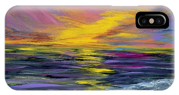 Collection Art For Health And Life. Painting 8 IPhone Case