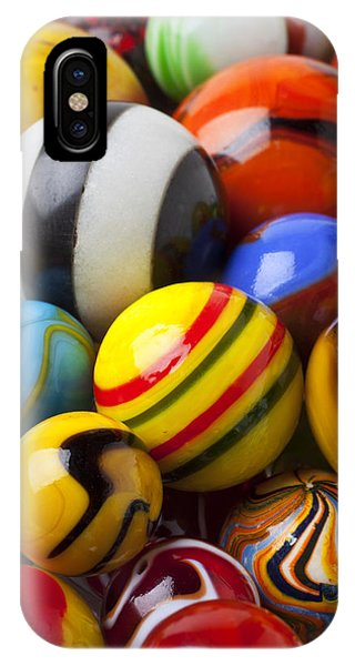 Novelty iPhone Case - Colorful Marbles by Garry Gay