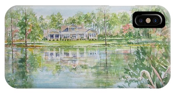 Commissioned Home Portrait IPhone Case