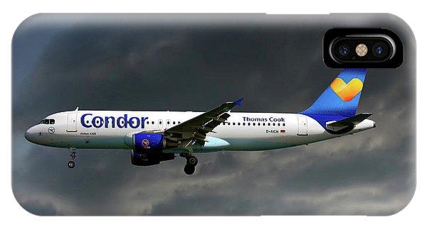 Condor Airbus A320-212 IPhone Case