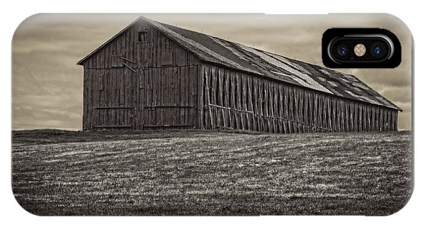 Connecticut Tobacco Barn IPhone Case