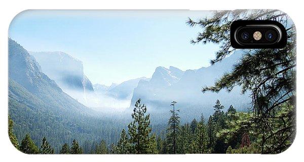 Controlled Burn Of Yosemite IPhone Case