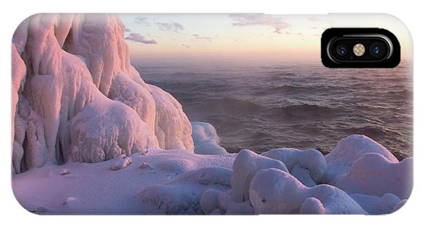 Lake Superior iPhone Case - Coolness by Mary Amerman